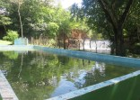 The other pool was full of water and ready to be enjoyed.
