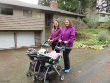 Matching strollers, jackets, baby blankets.....
