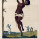 """William Blake, """"Flagellation of a Female Samboe Slave,"""" 1795 in John Gabriel Stedman's The Narrative of a Five Years Expedition against the Revolted Negroes of Surinam."""