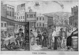 The Times by Edward Williams Clay, a depiction of the impact of the Panic of 1837.