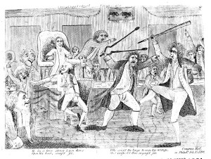 """Congressional Pugilists,"" Library of Congress"