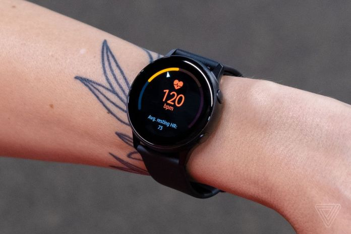Samsung Galaxy Watch Active features