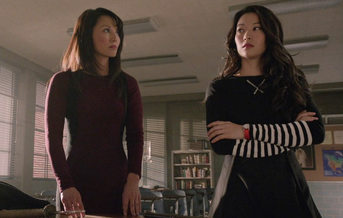 Kira and her mom in teen wolf