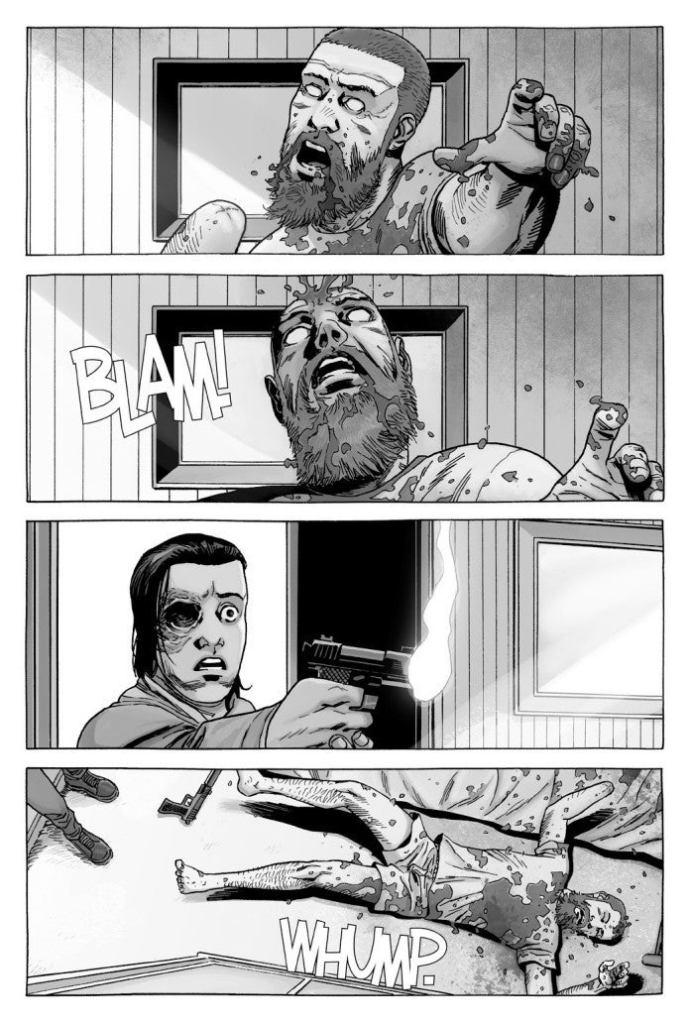 Rick Grimes Death Scene in the Comics