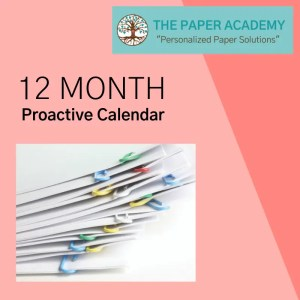 12-Month Proactive Calendar Product Image