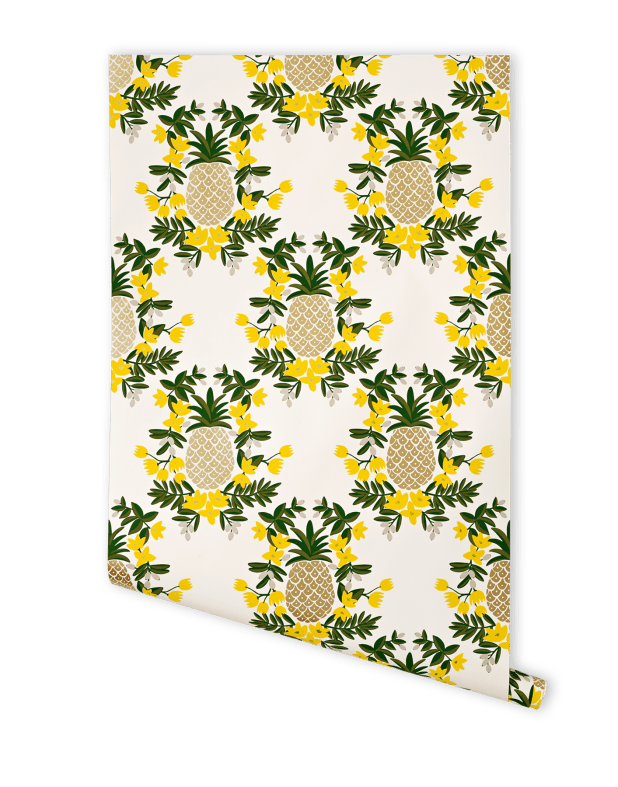 pineapple-yellow-wallpaper