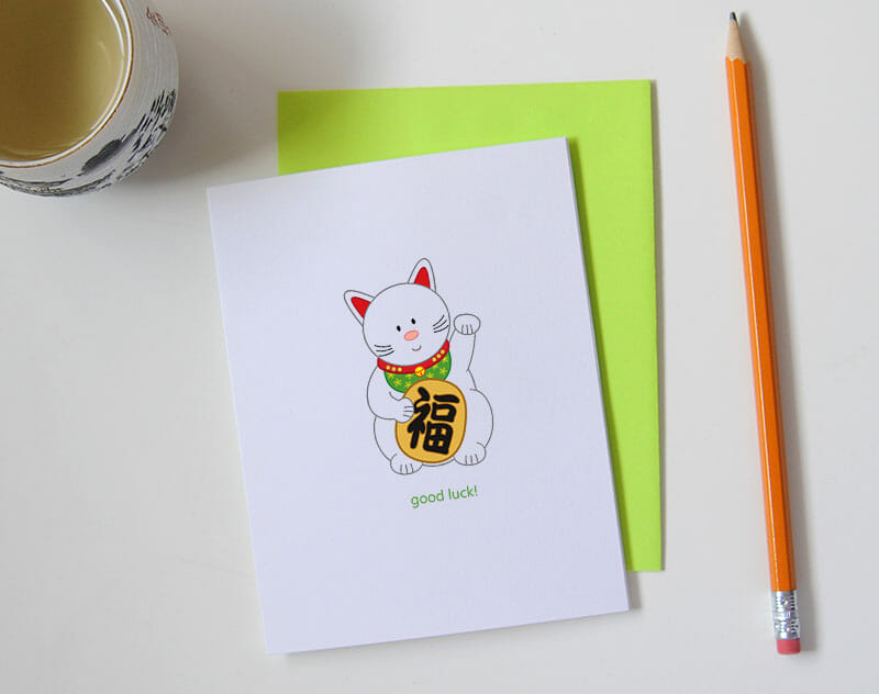 queeniescards_photo_greeting-card_good-luck-cat_2