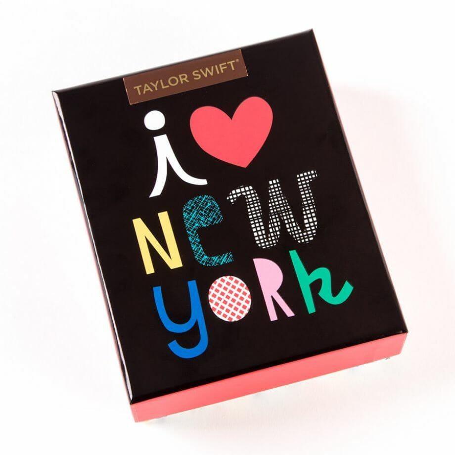 Taylor Swift- I Love New York Assorted Note Cards ( Set Of 20 )