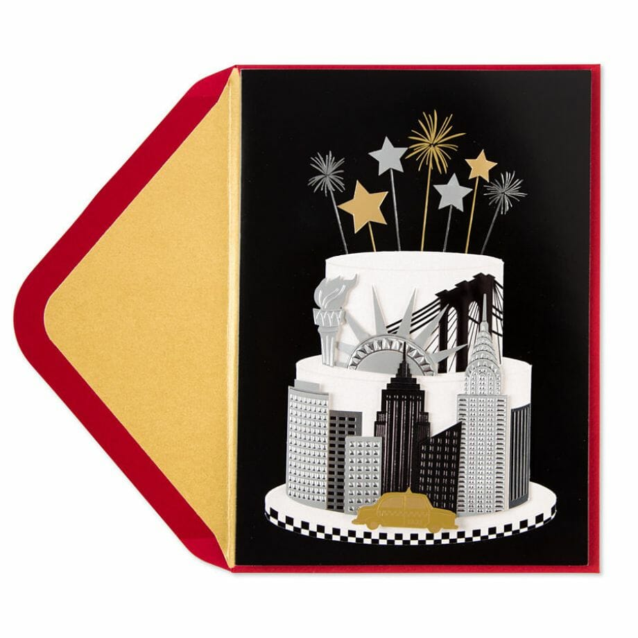Taylor Swift- New York Cake Card