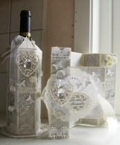Flaske og kort