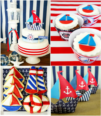 Birds Party_Nautical party Kit