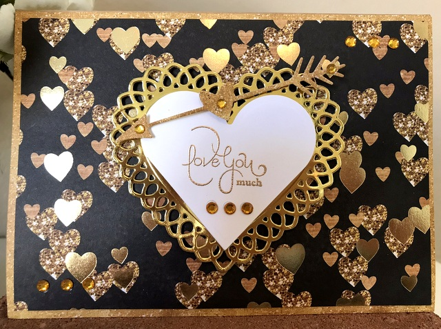 Classic Hearts, Lace Hearts, and Small DOM Jan  2018 Spellbinders