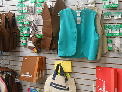 Girl Scout and Brownie Uniforms and Supplies