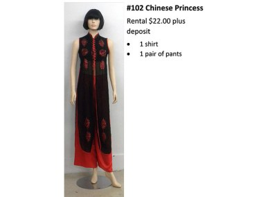 102 Chinese Princess