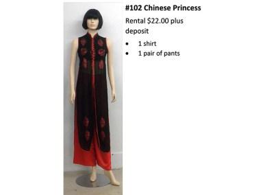 102 Chinese Princess