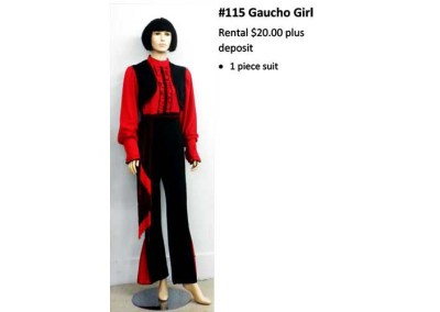 115 Gaucho Girl