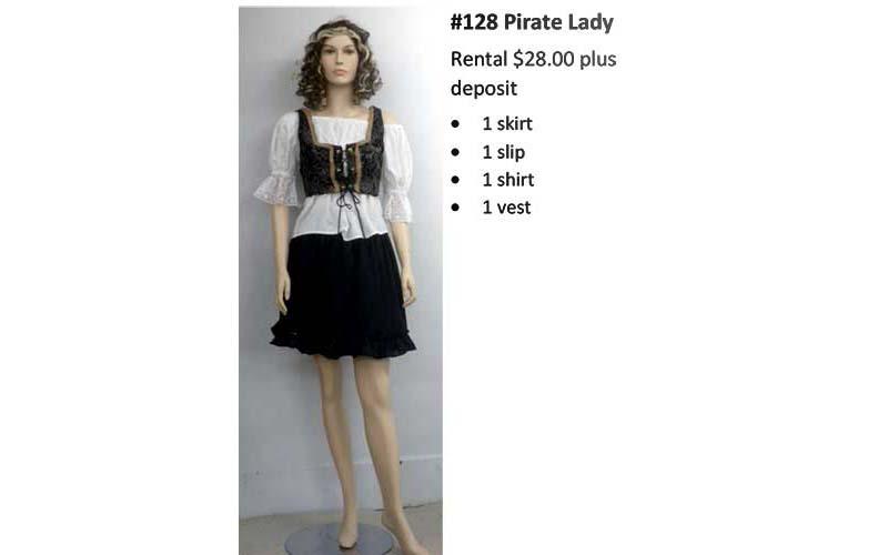 128 Pirate Lady