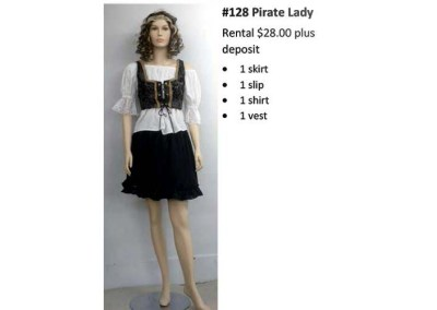 128 Pirate Lady