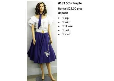 183 50's Purple