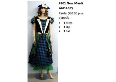201 New Mardi Gras Lady