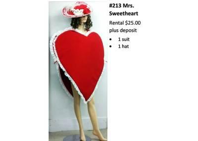 213 Mrs. Sweetheart