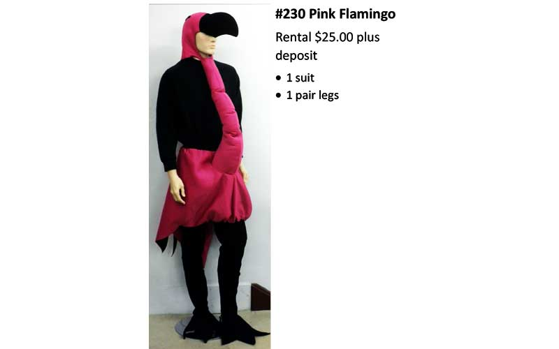 230 Pink Flamingo