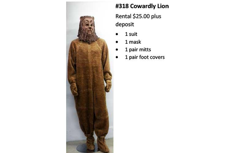 318 Cowardly Lion