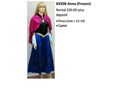 335B Anna (Frozen)
