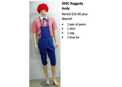 356C Raggedy Andy