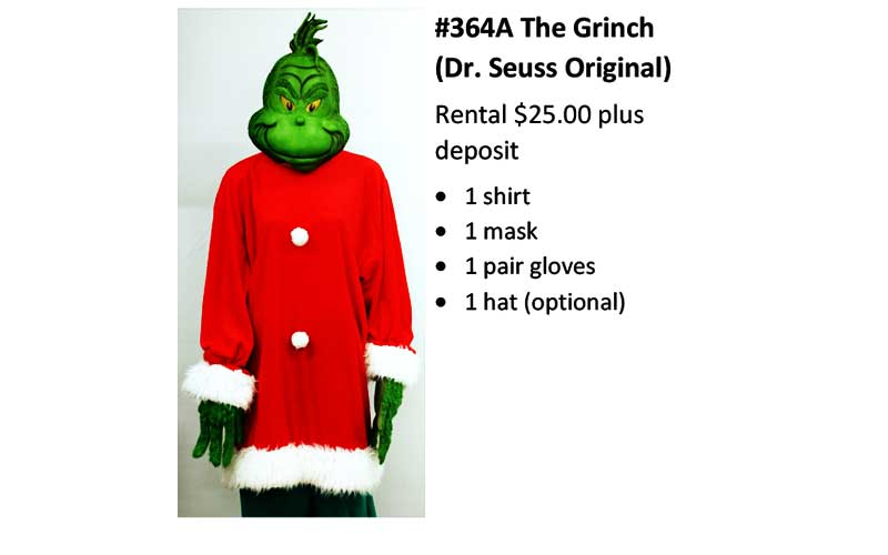 364A The Grinch (Dr. Seuss Original)