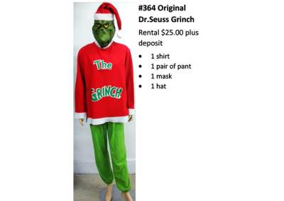 364 Original Dr. Seuss Grinch