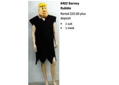 402 Barney Rubble