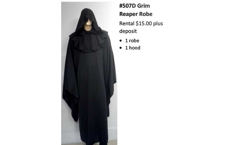 507D Grim Reaper Robe