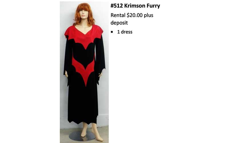 512 Krimson Furry