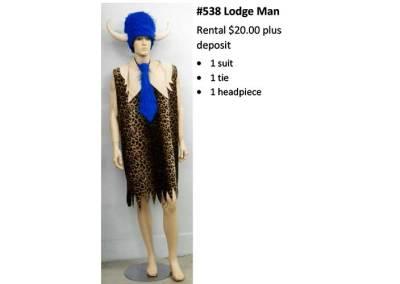 538 Lodge Man