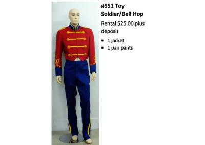 551 Toy Soldier/Bell Hop