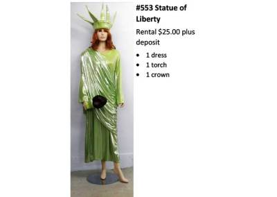 553 Statue of Liberty