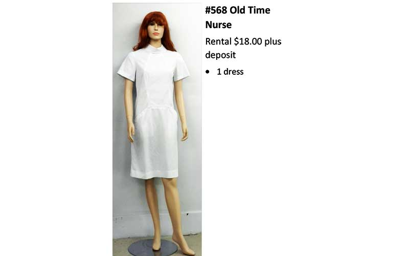 568 Old Time Nurse
