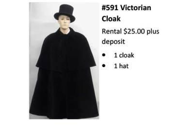 591 Victorian Cloak