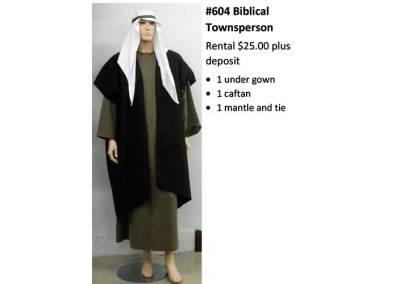 604 Biblical Townsperson