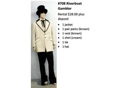 708 Riverboat Gambler