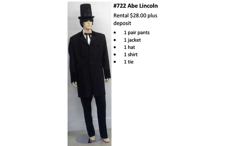 722 Abe Lincoln