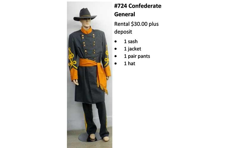 724 Confederate General