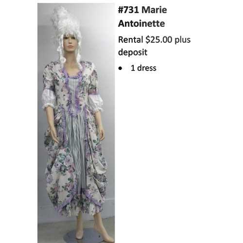 731 Marie Antoinette