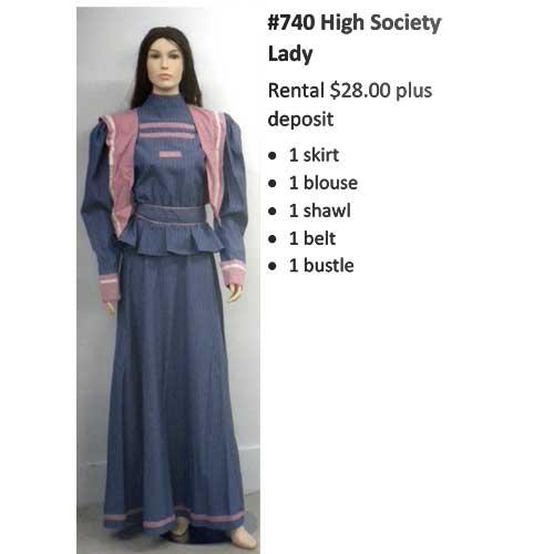 740 High Society Lady