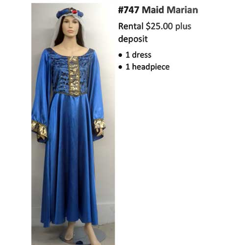 747 Maid Marian