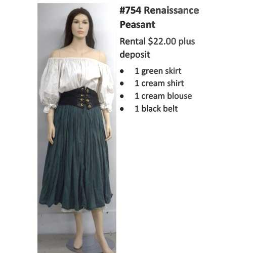 754 Renaissance Peasant
