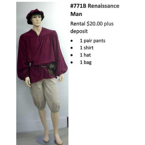 771B Renaissance Man