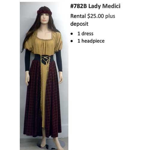 782B Lady Medici