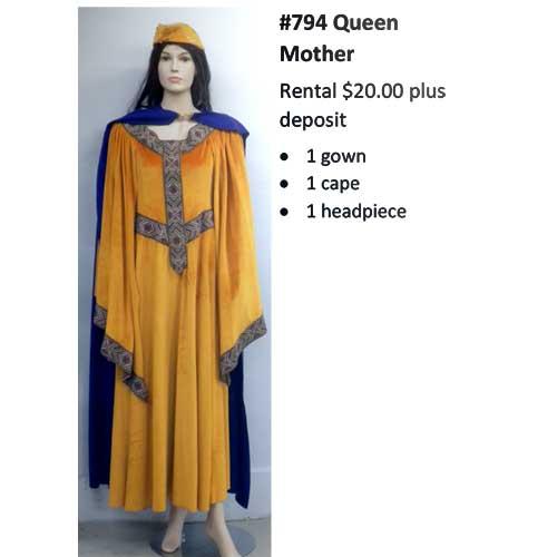 794 Queen Mother